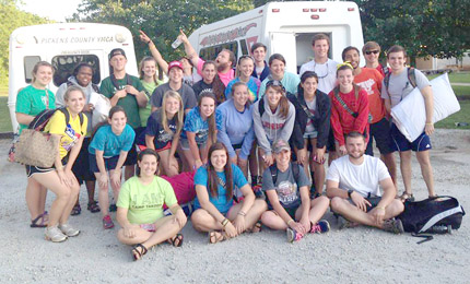 Counselors are all set for this year's YMCA summer camp.