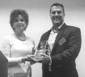 Margaret Holcombe of Liberty was recently honored with the S.C. Home Care and Hospice Association's  </p><p class=