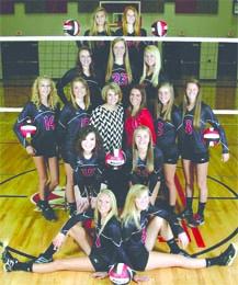 Liberty Volleyball Team 2014