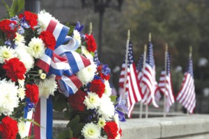 Memorial Day is Monday, May 25