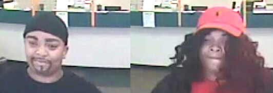 Courtesy photos The photo above shows a woman suspected of robbing the Advance America store in Clemson at gunpoint last week. Police ask anyone with information on the woman's identity to call (864) 624-2000.