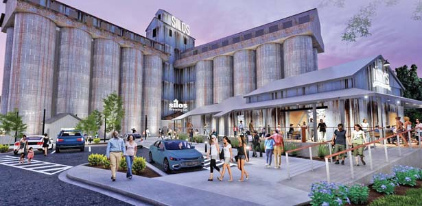 Family redeveloping historic Easley silos